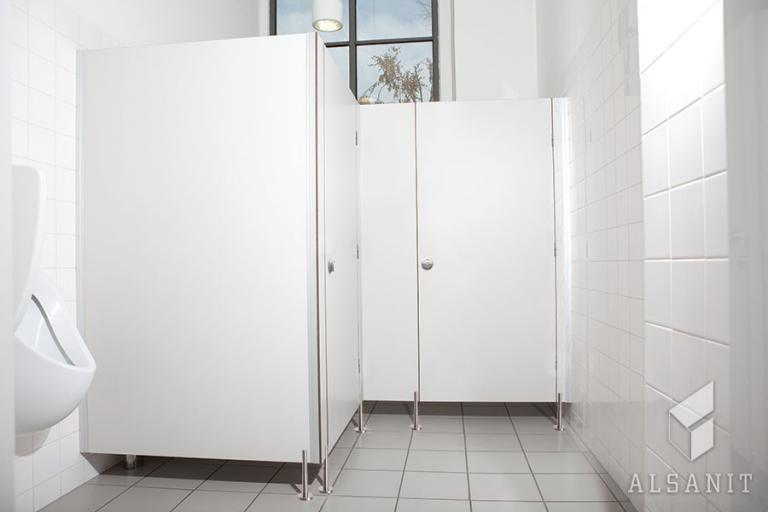 kabiny WC HPL