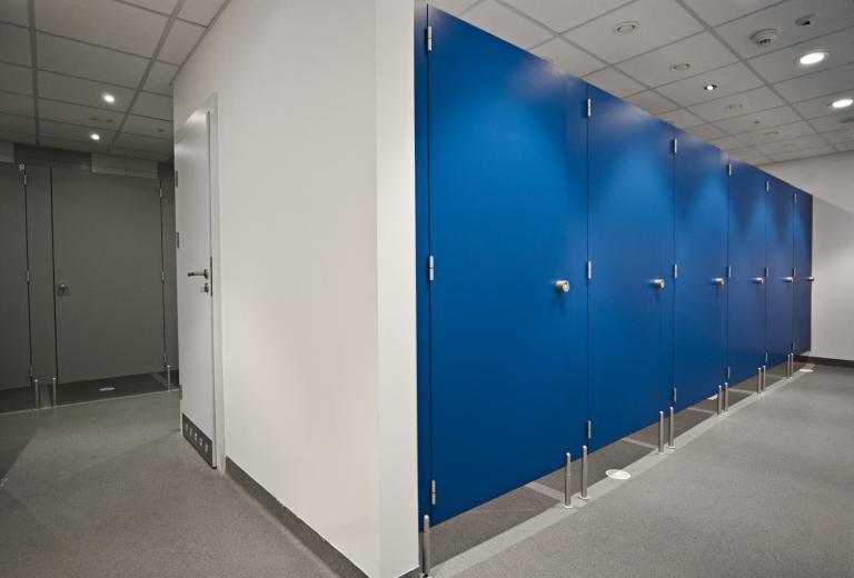 Washroom cubicles