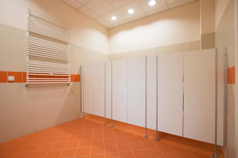 Toilet cubicles for pre-school