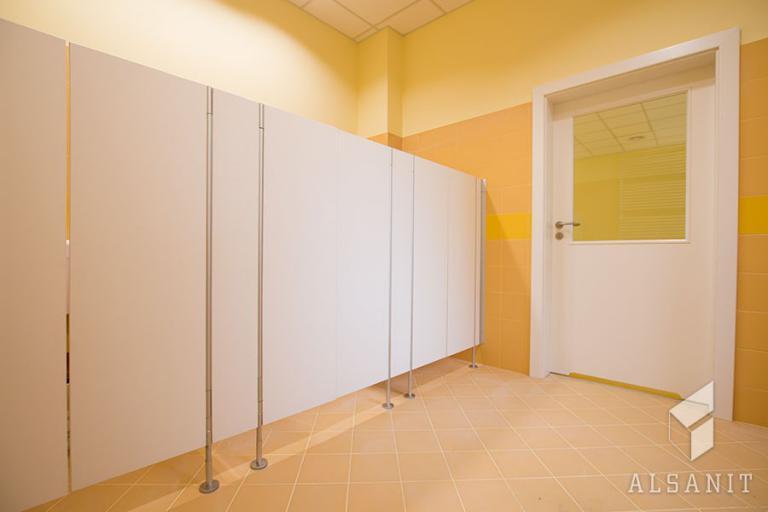 kabiny WC dla przedszkoli