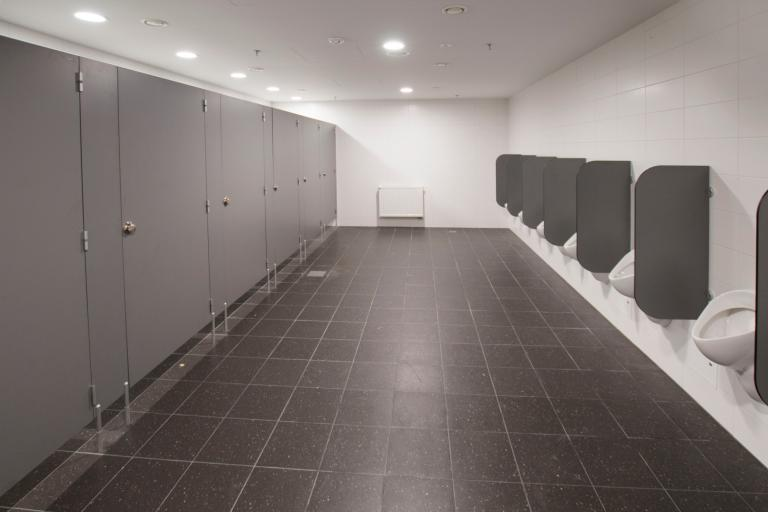 HPL urinal partitions