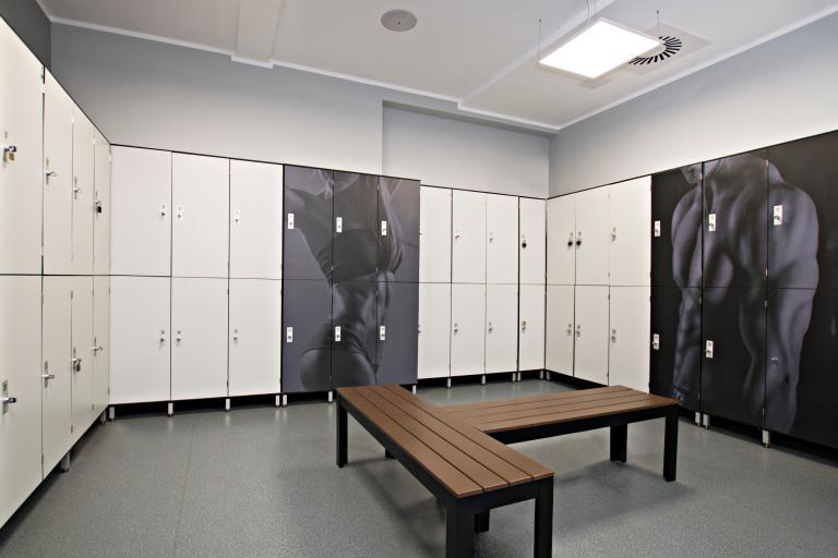 Fitness lockers