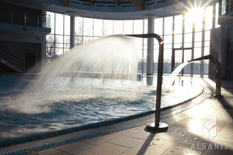 wyposażenie basenów